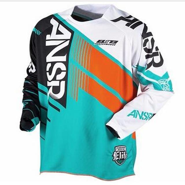 2017 New Cross Mountain Bike Downhill Motocross Cycling Jersey Short Sleeve  S-3XL Free Shipping 0e7373e25