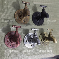 High Quality Europe Style Polished Bronze Double Hooks Solid Brass Towel Hooks Wall Mounted Coat Robe