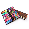 New Top Quality Pro 72 Colors Eyeshadow Pallete Shimmer Eye Shadow Wet 32 Colors Money Clip PU Leather Eyeshadow Makeup Palette