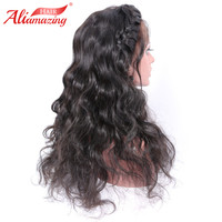 Ali Amazing Hair 360 Lace Frontal Wig Preplucked With Babyhair Body Wave Lace Front Human Hair Wigs For Women Remy Wig Full Hair