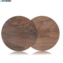 KEYSION Wood Qi Wireless Charger Charging Pad for Samsung Galaxy S8 S7 Note 8 for iPhone X 8 8Plus