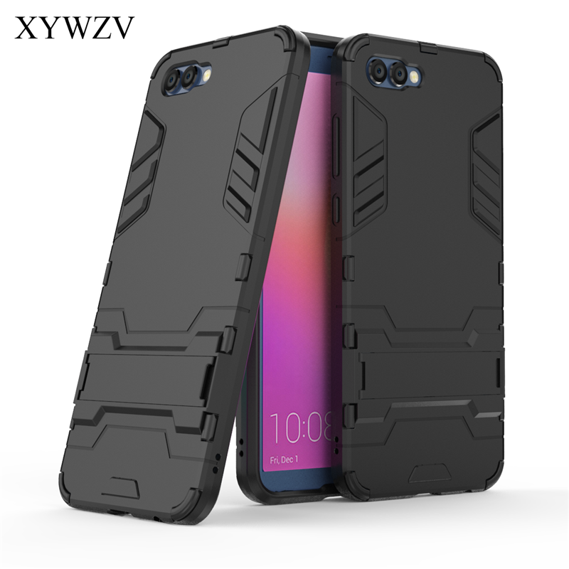 For Cover Huawei Honor V10 Case Robot Hard Rubber Phone Cover Case For Huawei Honor V10 Cover For Huawei Honor V10 Coque XYWZV image