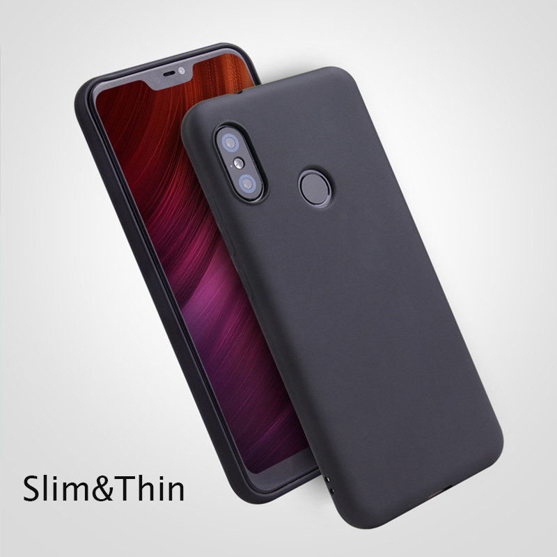 Thin Luxury Candy Case For Xiaomi redmi <font><b>6</b></font> 6pro 6A S2 NOTE <font><b>6</b></font> 5 5A Plus pro 4X MI8 8 SE 6X <font><b>Pocophone</b></font> <font><b>F1</b></font> Color Soft Silicone Cover image
