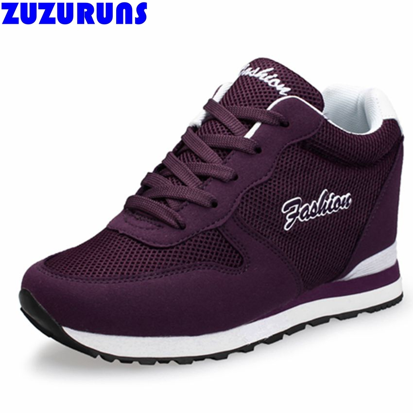 height increasing flat shoes women female breathable flat girls shoes fashion ladies ultra light brand new flats shoes women 26f 2016 new fashion breathable ladies denim shoes platform heel shoes women height increasing blue chaussure femme