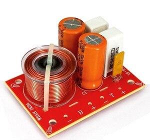 Image 2 - 2pcs 80w 2 way hi fi áudio agudos graves alto falante divisor de freqüência estéreo filtros crossover para 4 8ohm alto falante