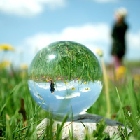 200mm Transparent Large Crystal Ball Figurines Glass Sphere Home Decoration Hot Sales