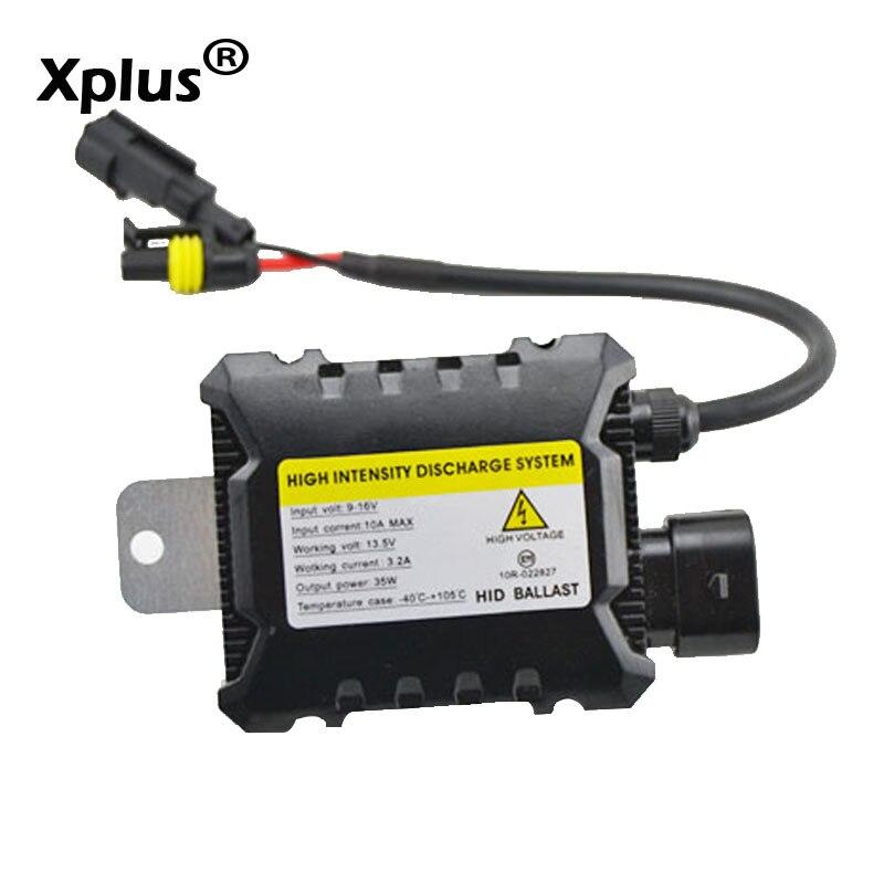 NASCOSTO sottile blocco di accensione 55 W 35 W Xenon Replacement Elettronico Digitale di Conversione Ballast Per HID Lampada Allo Xeno
