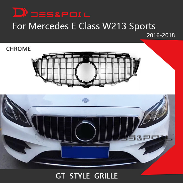 gt grille vertical diamond grill e63s style for mercedes. Black Bedroom Furniture Sets. Home Design Ideas
