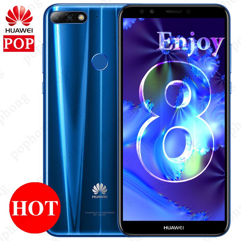 Global Huawei Y7 Prime 2018 5 99 Face ID Octa Core Cellphone Android 8 0 3GB