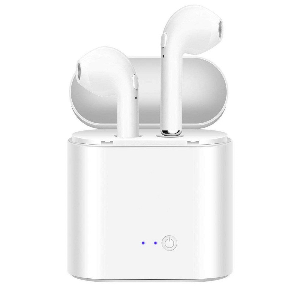 i7s TWS Wireless Bluetooth Earphone for Samsung Galaxy J5 J3 J7 2017 2016 2015 J2 Pro 2018 Prime Music Earbud Charging Box image