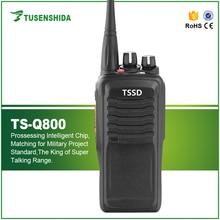 10 Вт МАКС Высокий Профессиональный Потенциал 400-470 МГЦ UHF Приемопередатчик TS-Q800