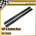 Car-styling For Lexus 2005-2013 IS250 XE20 Carbon Fiber Side Skirt Add On In Stock