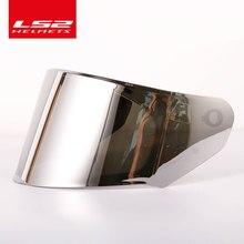 Visière de casque LS2 ff328 STREAM, lentille de casque transparente colorée anti-fumée, trou sans brouillard, modèle LS2 FF320 FF353