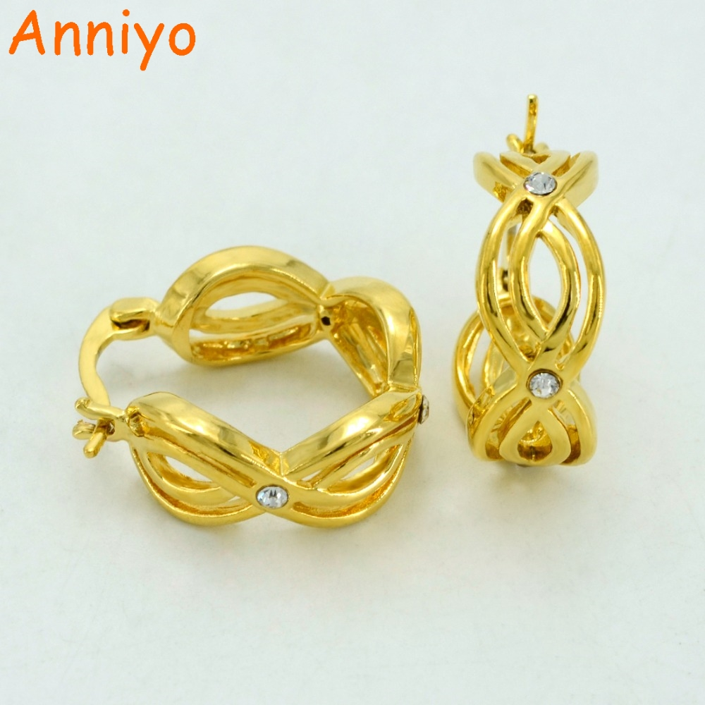 Girl,gold Color Number Earrings Africa  Jewelry Arab