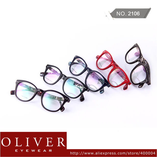 Wholesales!2013 New Arrival Unique Design Optical Eyeglasses Retro Style Optical Frame Unisex Eyewear Frame Brand 2106 Free Ship