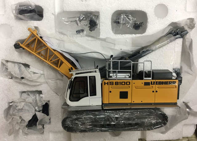 US $426 87 7% OFF|NZG 945 Liebherr hydroseilbagger HS 8100 HD Litronic  Crawler Crane 1:50 Metal-in Diecasts & Toy Vehicles from Toys & Hobbies on