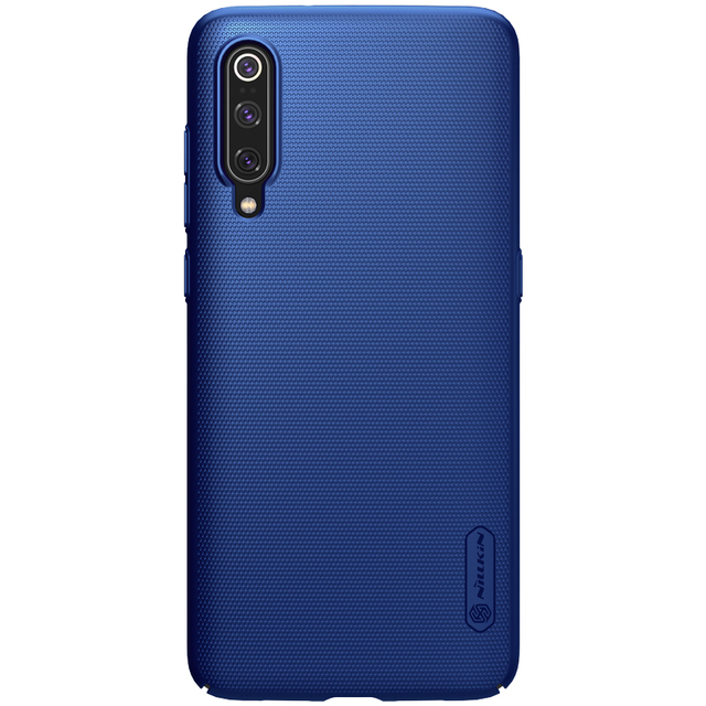 For Xiaomi Mi 9 Case Nillkin Frosted Shield PC Hard Back Casing Case for XiaoMi Mi9 Lite Mi 9 SE 9T Pro Cover With Phone Holder 5