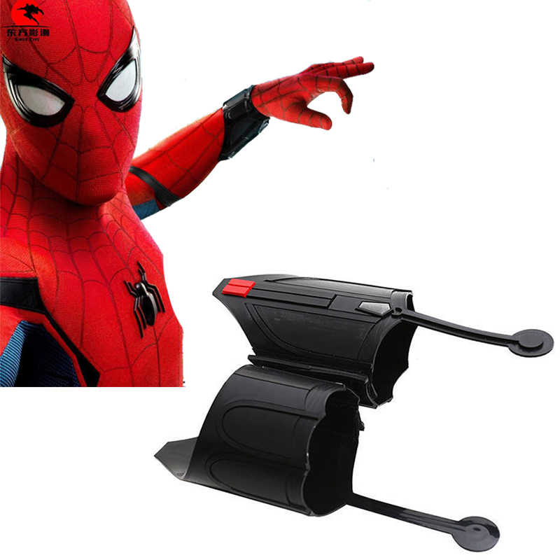 Filme homem aranha homecoming web shooter spiderman cosplay peter parker cosplay prop decorar