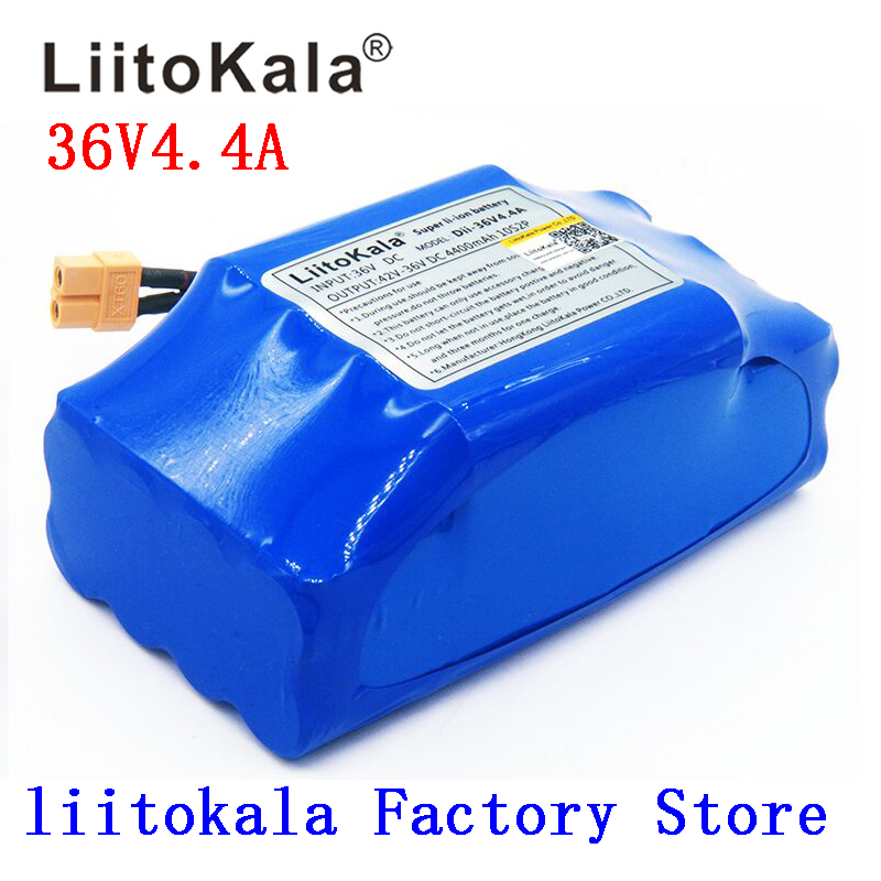 NEW 36V rechargeable li-ion battery pack 4400mah 4.4AH lithium ion cell for electric self balance scooter hoverboard unicycle