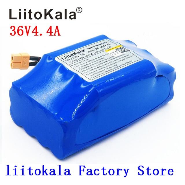 Nouvelle batterie rechargeable li ion 36 V 4400 mah 4.4AH pile au lithium ion pour monocycle électrique de hoverboard de scooter déquilibre dindividu