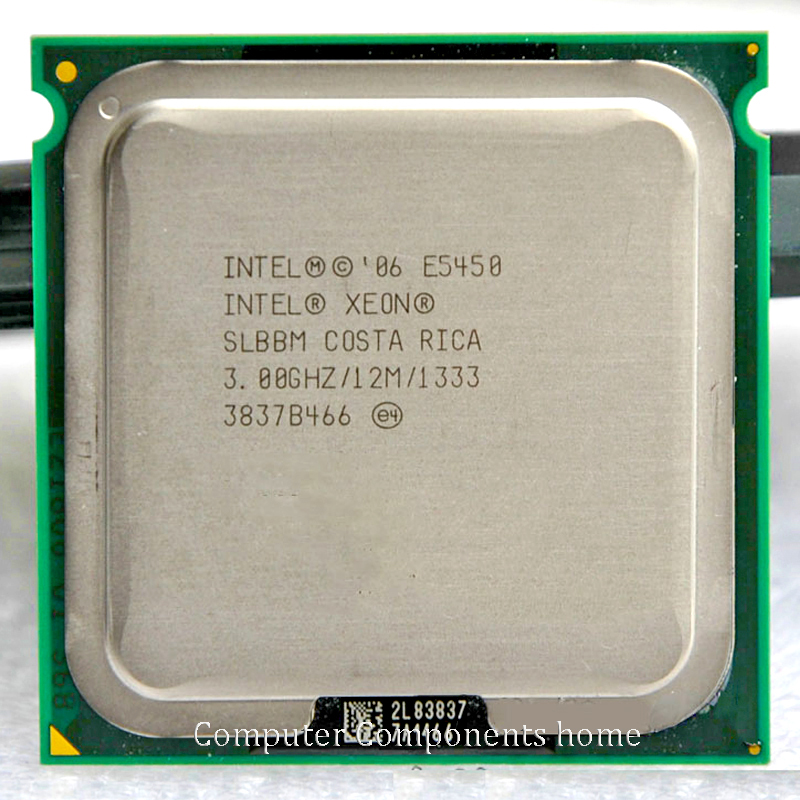INTEL XONE E5450 LGA 775 Processor(3.0GHz/12MB/Quad Core)close to LGA775 Q9650 with two 771 adapters warranty 1 year