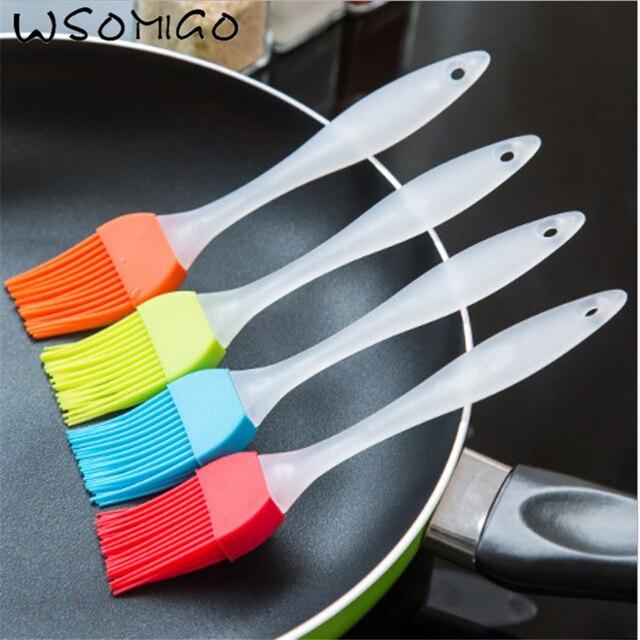 1 pz Gadget Da Cucina Olio di Silicone Pennello Attrezzature e Accessori da forn