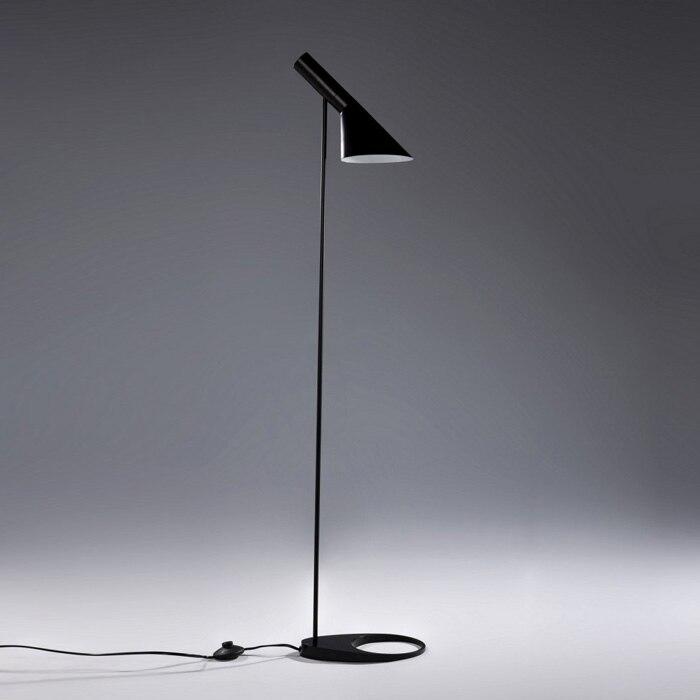 2 Bulb Floor Lamp: Replica Arne Jacobsen Louis Poulsen AJ Floor Lamp metal lampshade Decor  living room bed room floor light 110-240V,Lighting