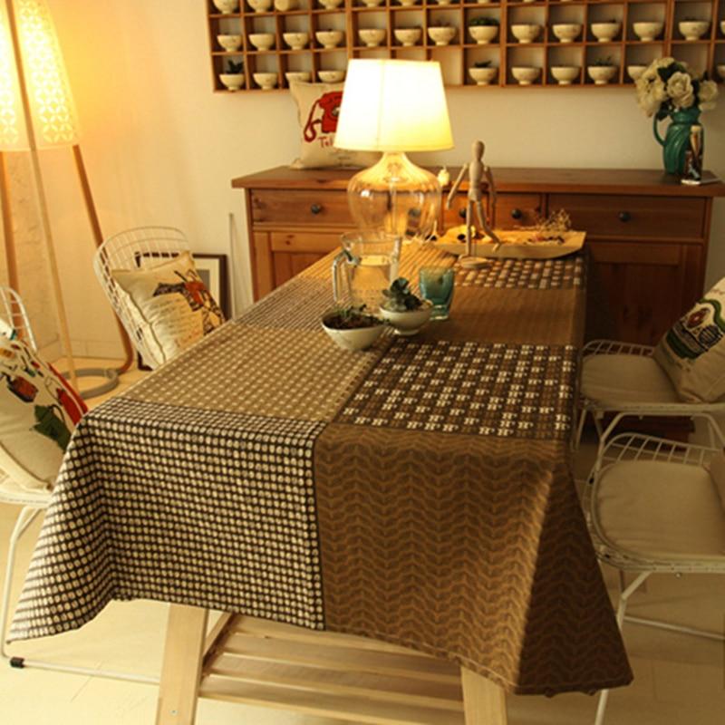Eupore square mesa rectangular de tela de alto grado de for Manteles de mesa