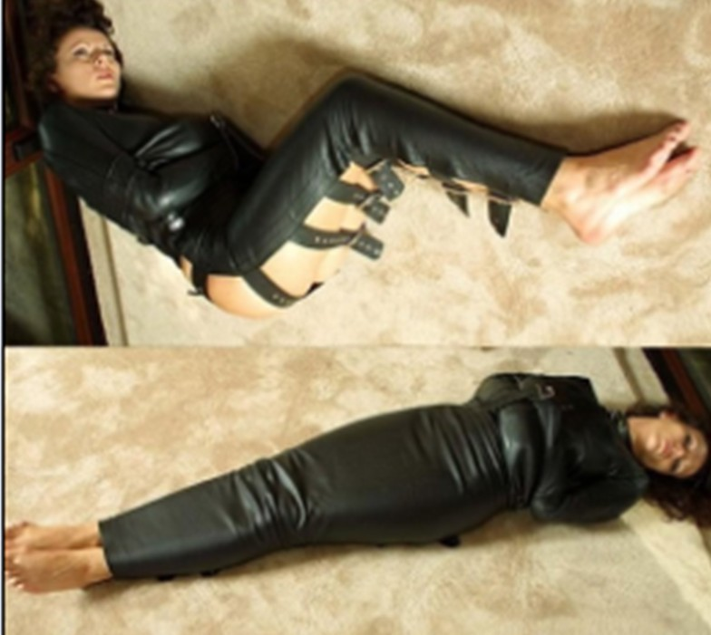 Women Body Harness Bondage Jacket Sleep Sack Gay Fetish -1727