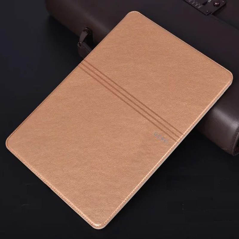 Elegant Brand Luxury Business Shockproof Flip Wallet Stand Leather Case for ipad air 2 Smart Cover For ipad 6/air2 Retina Shell