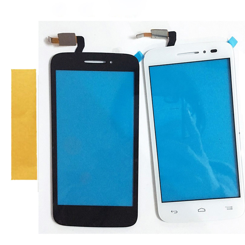 2 Color Touchscreen For Alcatel One Touch 5042D OT5042 5042 Touch Screen Digitizer Panel Front High Glass Lens