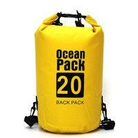 Спортивная походная Экипировка дорожная сумка для воды портативная водонепроницаемая сумка для хранения сухая сумка для сплав на каноэ ка...