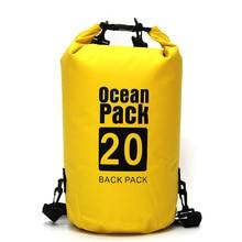 Спорт Туристическое оборудование Travel Kit океан пакет Портативный Водонепроницаемый Открытый мешок хранения сухой мешок для каноэ Байдарка Рафтинг