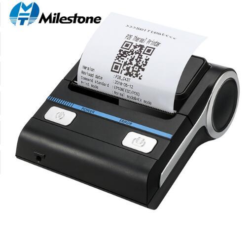 12 Pieces lot Milestone 80mm Thermal Printer Bluetooth Android POS Receipt Bill Printer Printing Machine MHT