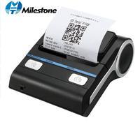 12 шт./лот Milestone 80 мм Термопринтер Bluetooth Android POS чековый принтер Bill принтер печатная машина MHT-P8001 Бесплатная DHL EMS