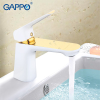 GAPPO water mixer tap Basin Faucet bathroom sink tap mixer bathroom faucet brass faucet waterfall toilet basin mixer gold G1080