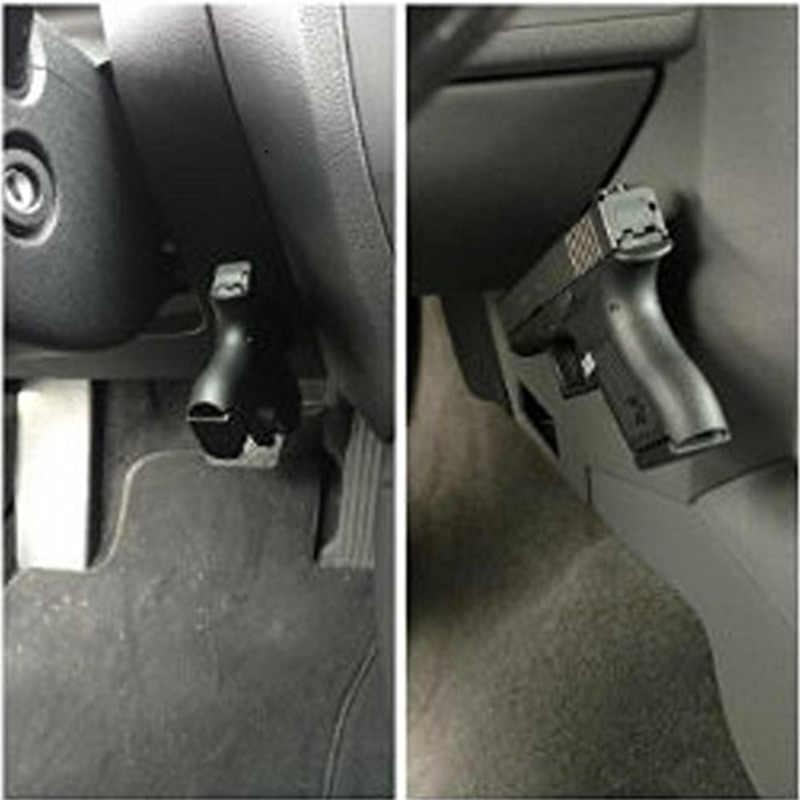 ปกปิดแม่เหล็กปืน HOLSTER ปืนแม่เหล็กเรตติ้งสำหรับรถภายใต้ตารางข้างเตียงปืนพกแม่เหล็ก Coat การล่าสัตว์ Stents เครื่องมือ