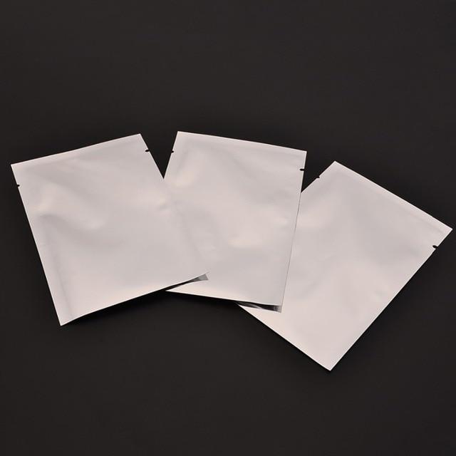 Mayitr 100 pçs/lote Prata Sacos Multifuncional Aferidor Do Vácuo Da Folha De Alumínio Mylar Zipper Bolsas De Armazenamento De Alimentos Armazenamento Cozinha de Casa