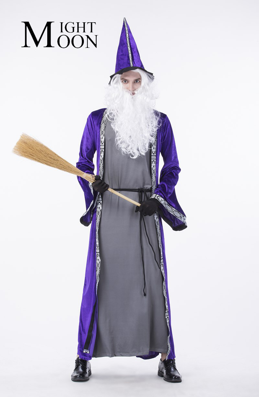 Popular Male Wizard Costume-Buy Cheap Male Wizard Costume lots ...