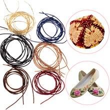 DIY нить для вышивки, французская проволока в слитках, диаметр 1,0 мм, круглый яркий шелк, металл, золото, серебро, индийский шелк, Швейные аксессуары