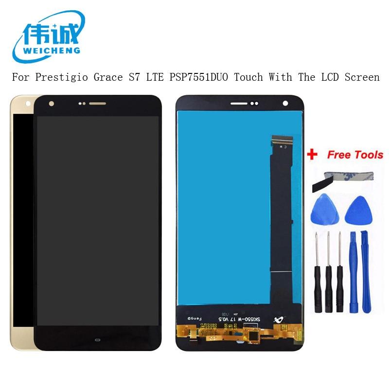 New 8 Tablet Pc Prestigio Grace 5718 4g Pmt5718_4g Pmt5718d Touch Screen Digitizer Touch Panel Home