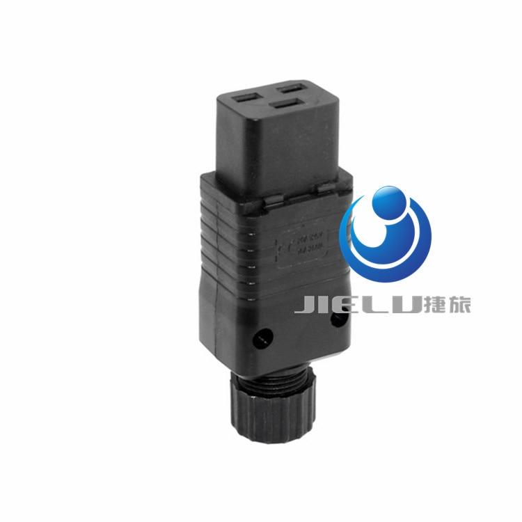 купить 50 pcs,IEC 320 C19 16A Power Cord Connector,Black PDU IEC 320 C19 Rewirable Socket, по цене 5941.62 рублей