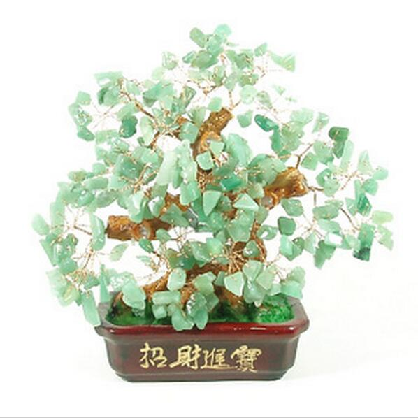 Natural Crystal Craft Tree , The Lucky Feng Shui Tree As