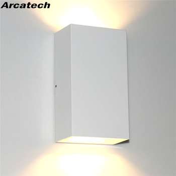 Modern Waterproof IP65 Wall Lamp LED Outdoor Wall Lights  Garden Proch Light 6W LED AC85-265V Indoor Wall Sconce  NR-06 led wall lamp 5w 10w gu10 led bulbs wall lights waterproof ip65 modern porch light ac85 265v courtyard outdoor indoor lighting