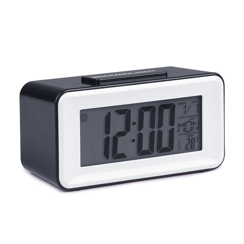 JULY S SONG Digital LED Alarm Clocks Student Clocks With Week Snooze Thermometer Watch Electronic Table