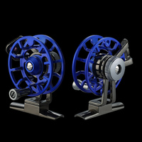 Bobing FB50 1BB 1:1 ЧПУ Алюминий Сплава Fly Рыбалка катушка супер свет Портативный Ice рыба колесо переднее колесо линии Ёмкость 0.25 мм
