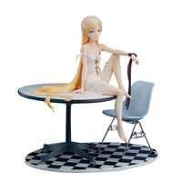 New Anime Finger Action Oshino Shinobu Girl Ver. 1/8 Scale Pre Painted Figure PVC Collection Model Toys