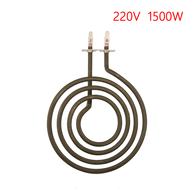 1500w Pancake Coil Shape Heater Tube For Stove Surface Burner 4