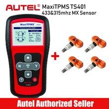 Autel MaxiTPMS TS401 инструмент мониторинга состояния шин Датчик давления для шин активатор инструментов программирования датчики давления в шинах TPMS инструменты для активации Univeresal