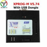 2019 последней версии XPROG V5.74 автомобильный ЭБУ Полный адаптеров добавить новый авторизации XPROG M Box 5,74 с USB Dongle